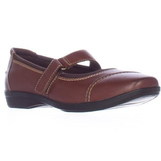 Clarks Haydn Garnet Mary Jane Flats - Brown