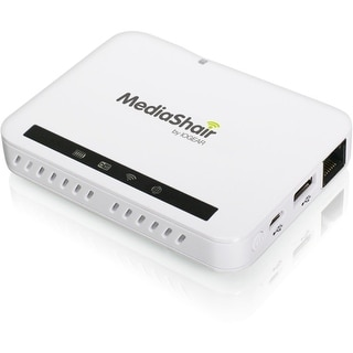 IOGear GWFRSDU2 Iogear MediaShair 2 Wireless Media Hub and Power Station - Wi-Fi - 7 x Storage Device