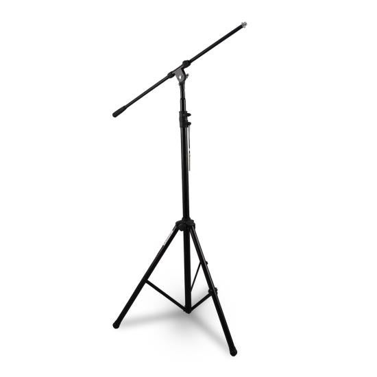 Heavy-Duty Tripod Boom Microphone Mic Stand, Height Adjustable, Boom Extendable