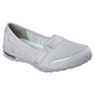 Skechers 22985 GRY Women's RELAXED FIT: EASY AIR-GOLD MINE Loafers