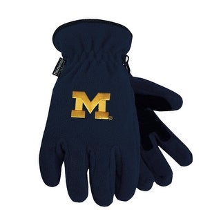 University of Michigan Heavy-Weight Fleece Gloves (2 options available)