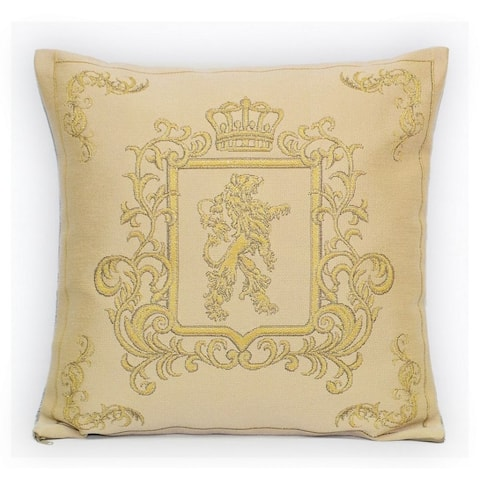 STP Goods Decorative Lion Gobelin Tapestry Throw Pillow