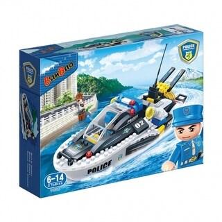 BanBao Interlocking Blocks Police Speedboat 7006 (225 Pcs)