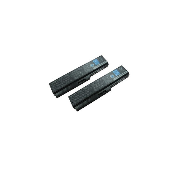 Replacement 4400mAh Toshiba PA3728U Battery for EX/56 / SS M51 Dynabook Laptop Series (2 Pack)