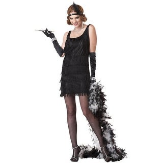 California Costumes Fashion Flapper Adult Costume