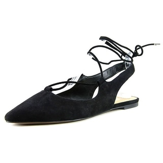 Franco Sarto Snap Women Pointed Toe Leather Flats