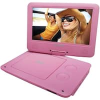 "Sylvania Sdvd9020B-Pink 9"" Portable Dvd Players With 5-Hour Battery (Pink)"