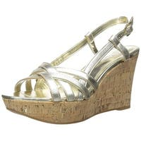 LAUREN by Ralph Lauren Womens Quaylin Leather Open Toe Casual Platform Sandals