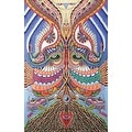 Handmade 100% Cotton Psychedelic Yes Yes No No Tapestry Tablecloth Spread 60x90 and 30 x 45