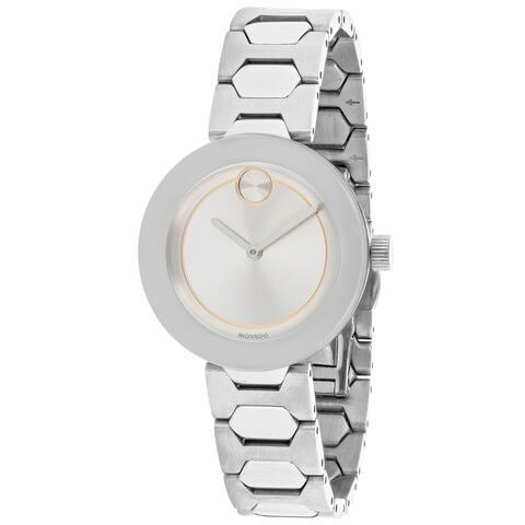 Movado Women's Bold Silver Dial Watch - 3600381