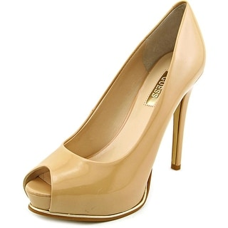 Guess Honora 2 Open Toe Synthetic Platform Heel
