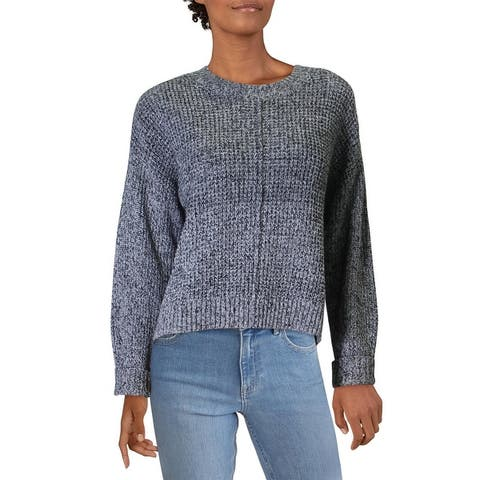 Sanctuary Womens Sorry Not Sorry Sweater Drop Shoulder Chunky Knit