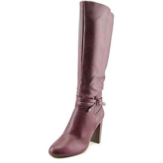 Thalia Sodi Alda Women Dark Ruby Boots