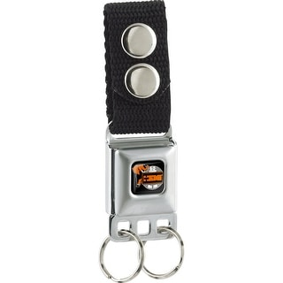 Hemi 426 Elephant Logo 50 Years 1964 2014 Full Color Black White Orange Keychain