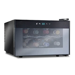 Ivation 8 Bottle Countertop Thermoelectric Wine Cooler/Chiller