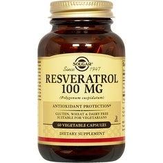 Solgar Resveratrol 100 mg (60 Veggie Capsules)