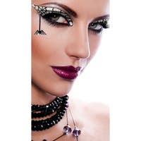 Black Widow Eyes Kit, Black Widow Eye Stickers - as shown - One Size Fits most