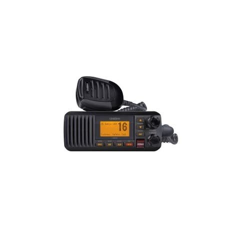Uniden UM385 Fixed Mount VHF Radio - Black UM385 Fixed Mount VHF Radio - Black