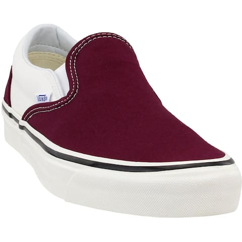 Vans Mens Classic Slip-On Casual Sneakers Shoes