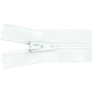 """White - Ziplon Coil Zipper 9"""""""