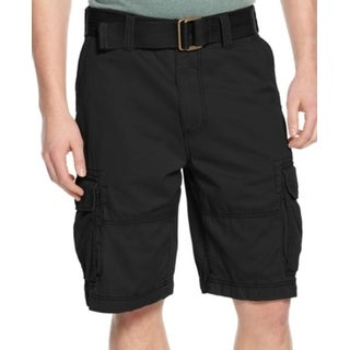 American Rag CIE NEW Men's Black Size 44B Big And Tall Cargo Shorts