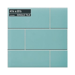 "Daltile 0148MODP Modern Dimensions - 8-1/2"" x 4-1/4"" Rectangle Wall Tile - Polis - N/A"