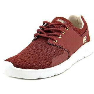 Etnies Scout XT Men Round Toe Synthetic Burgundy Skate Shoe