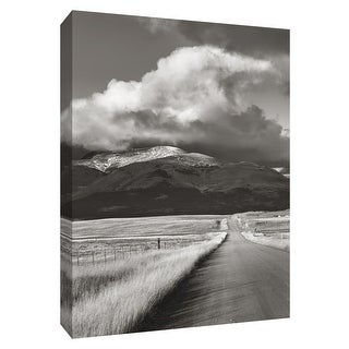 "PTM Images 9-154400  PTM Canvas Collection 10"" x 8"" - ""Western Roads"" Giclee Rural Art Print on Canvas"