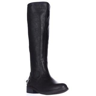 Nautica Ridgeland Flat Riding Boots - Black