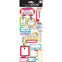 Washi Tape Birthday - Sayings Stickers