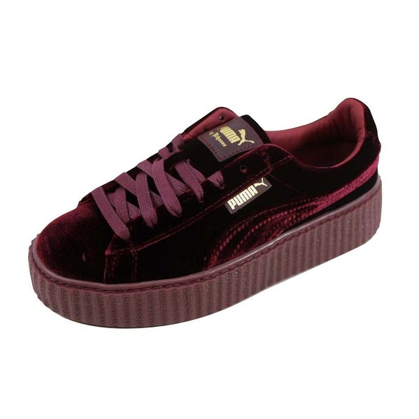 wholesale dealer 82504 24d78 Shop Puma Women's Creeper Velvet Royal Purple Rihanna Fenty ...