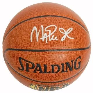 Magic Johnson Signed Spalding Indoor/Outdoor Basketball - PSA/DNA