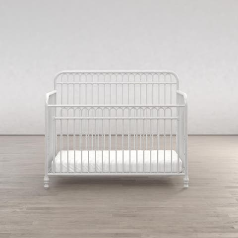 Little Seeds Ivy 3-in-1 Convertible Metal Crib
