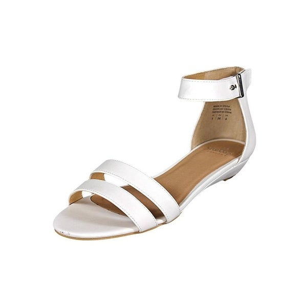 Shellys London Womens Olaedia Open Toe Casual Ankle Strap Sandals