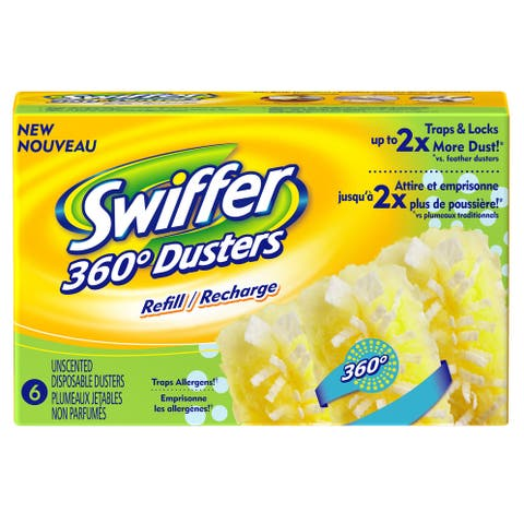 Swiffer 16944 360-Duster Refill, Unscented, 6-Count