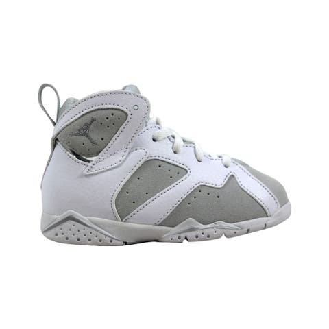 size 40 28b7a da303 Nike Air Jordan VII 7 Retro BT White Metallic Silver Pure Money 304772-120