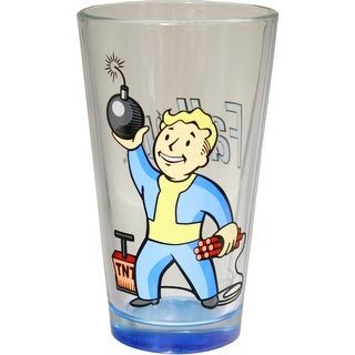 Fallout Vault Boy Pint Glass