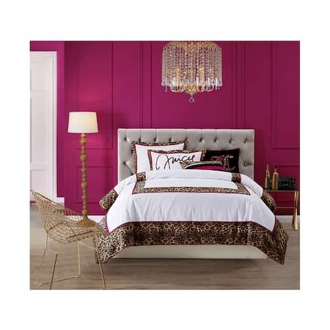 Juicy Couture Regent LeopardThree Piece Comforter set