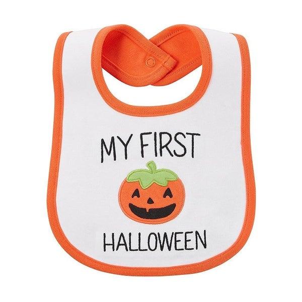Carters 0-12 Months First Halloween Pumpkin Bib