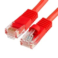 Cat5e Ethernet Network Patch Cable 350 MHz RJ45 - 15 Feet Red