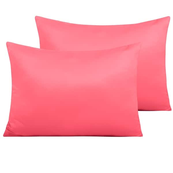 Wrinkles FREE 6 Colors~ Luxury Super Soft Silky SATIN ~1 x Standard Pillowcase