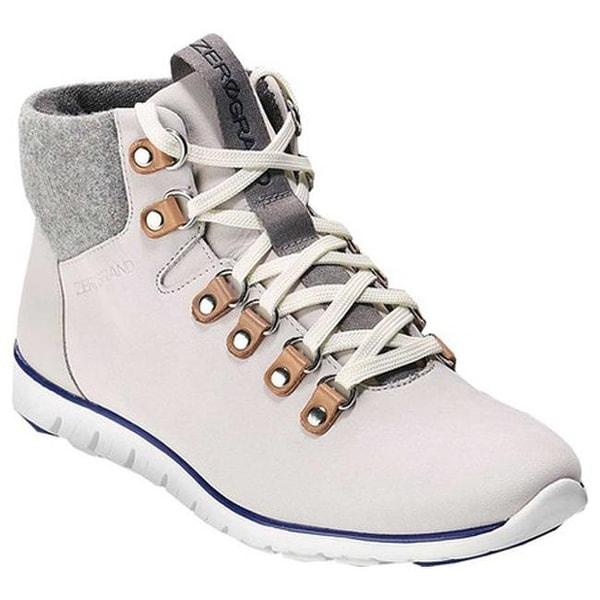 104272e817 Cole Haan Women's ZEROGRAND Hiker Boot Vapor Grey/Ironstone Leather