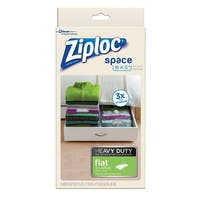 Ziploc 70422 Vacuum Seal Storage Bag, Clear, Plastic