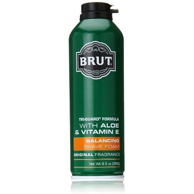 BRUT Balancing Shave Cream, Original Formula 9.5 oz