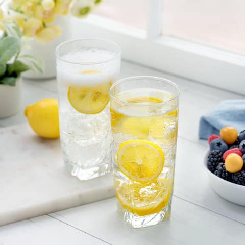 Luminarc 16.5 Ounce Ascot Cooler Glass, Set of 4