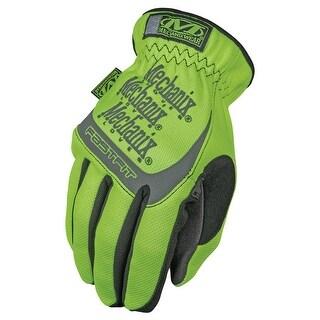 Mechanix Wear SFF-91-008 Safety FastFit Glove, Small, Hi-Viz Yellow