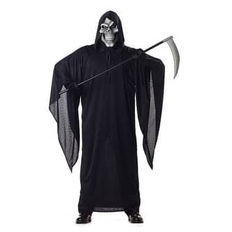 Skeleton Grim Reaper Adult Mens Halloween Costume