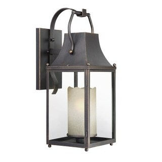 """Park Harbor PHEL3002 Whitby Single Light 27-9/16"""" Tall Outdoor Wall Sconce with"""