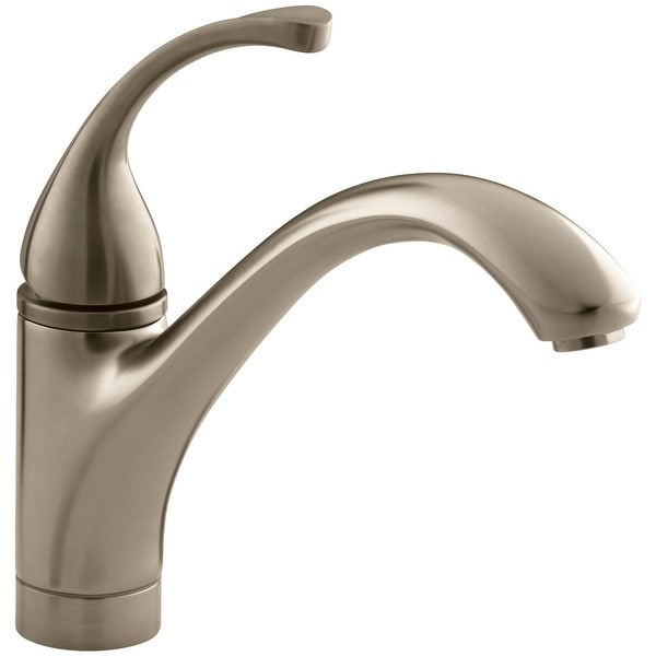 Beau Shop Kohler K 10415 Single Handle Kitchen Faucet From The Forte Collection    Free Shipping Today   Overstock   16907348