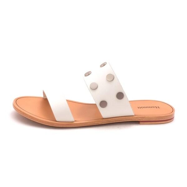 Hammitt Womens Amen Leather Open Toe Casual Slide Sandals - 9